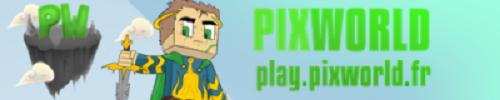 Serveur Minecraft Pixw0rld